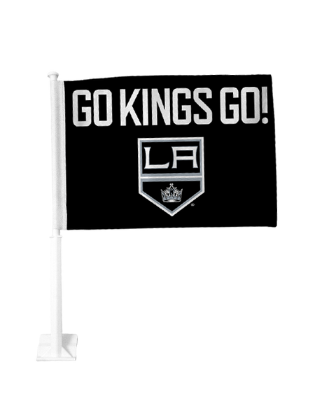 Los Angeles Kings Go Kings Go Car Flag