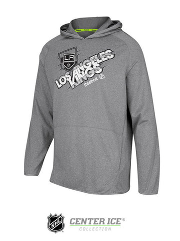 Los Angeles Kings Center Ice TNT Fusion Play Dry Hoodie