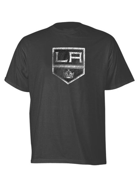 LA Kings Distressed Logo T-Shirt - Grey