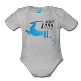 Kudu Organic Onesie - heather gray
