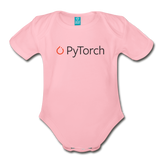 PyTorch Organic Onesie - light pink