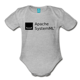 SystemML Organic Onesie - heather gray