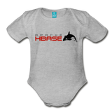 HBase Organic Onesie - heather gray