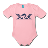 Avro Organic Onesie - light pink