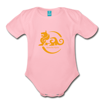 Kylin Organic Onesie - light pink