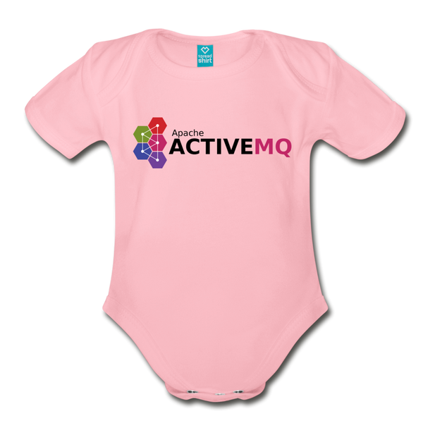 ActiveMQ Organic Onesie - light pink