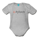 PyTorch Organic Onesie - heather gray