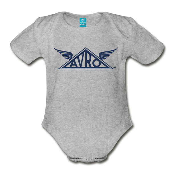 Avro Organic Onesie - heather gray