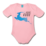 Kudu Organic Onesie - light pink