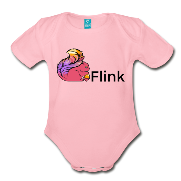 Flink Organic Onesie - light pink