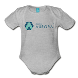 Aurora Organic Onesie - heather gray