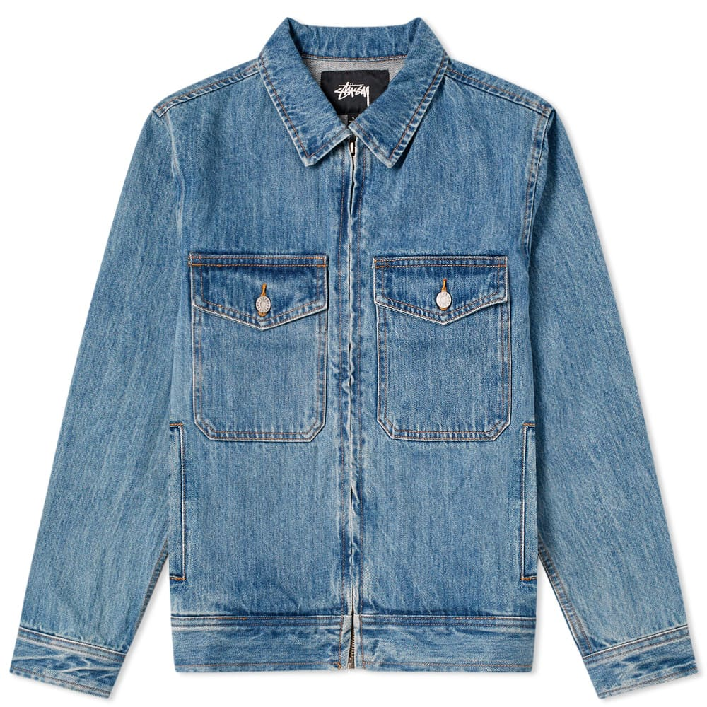 Denim Garage Jacket Med