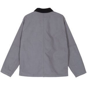 Washed Chore Jacket Grey