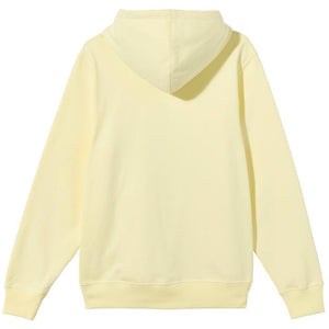 City Seal Embroidered Hoodie Pale Yellow