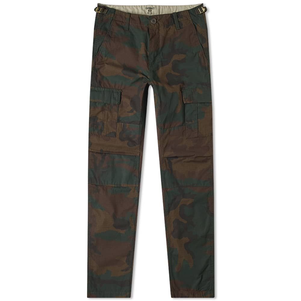 Aviation Pant Camo Evergreen