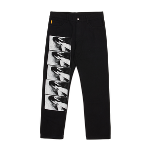 Swallow Denim Jeans Black