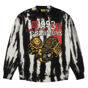 Smiley Champions 3 Rings Tie-Dye Crewneck