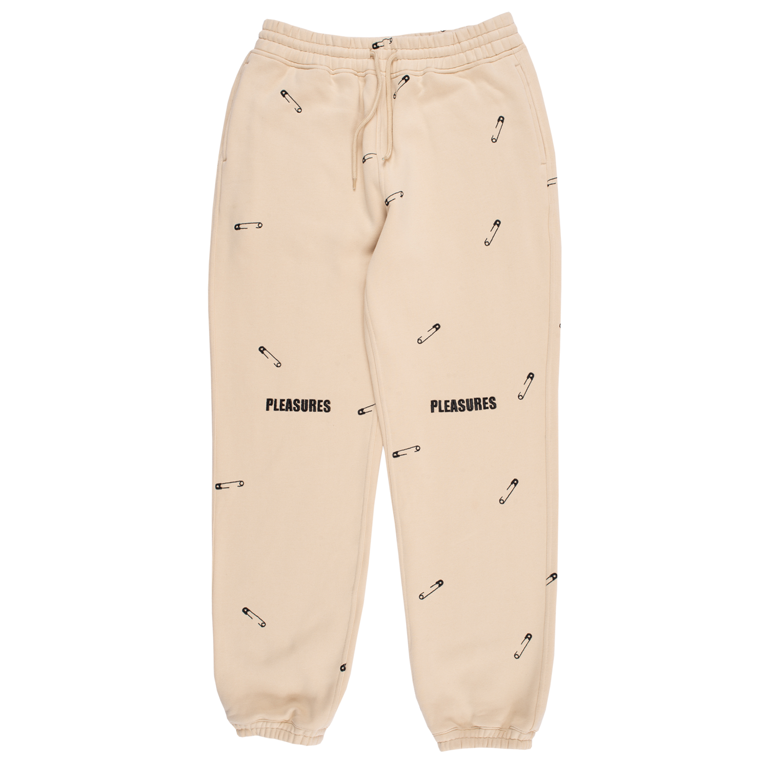 Safety Embroidered Sweat Pant Cream