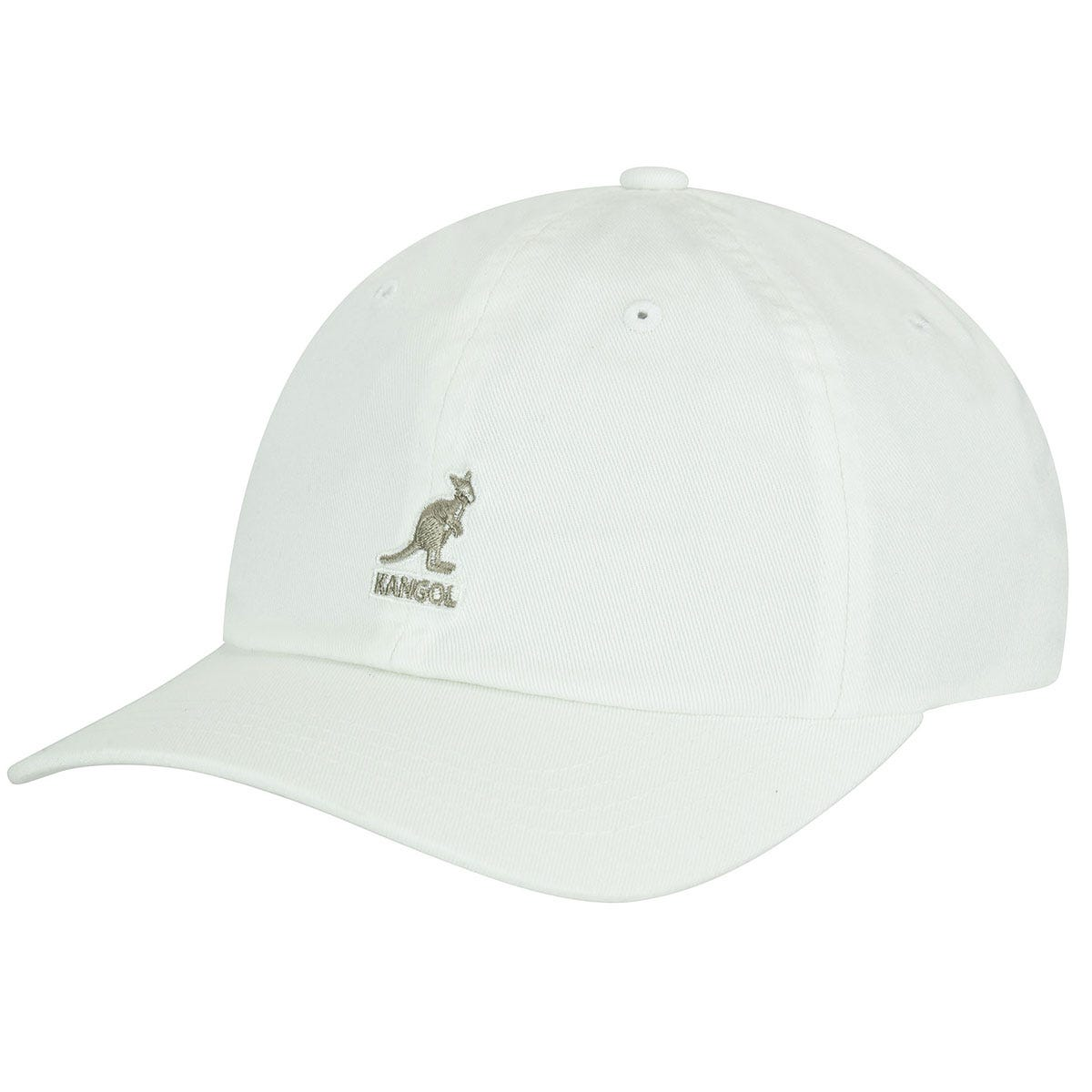 Washed Baseball Hat White