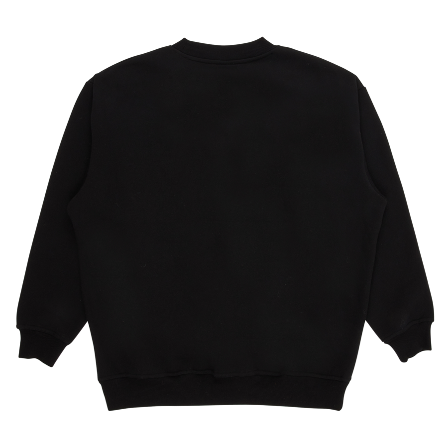 Crush Crewneck Sweatshirt Black