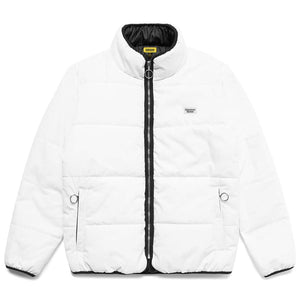 UV Puffer Jacket White
