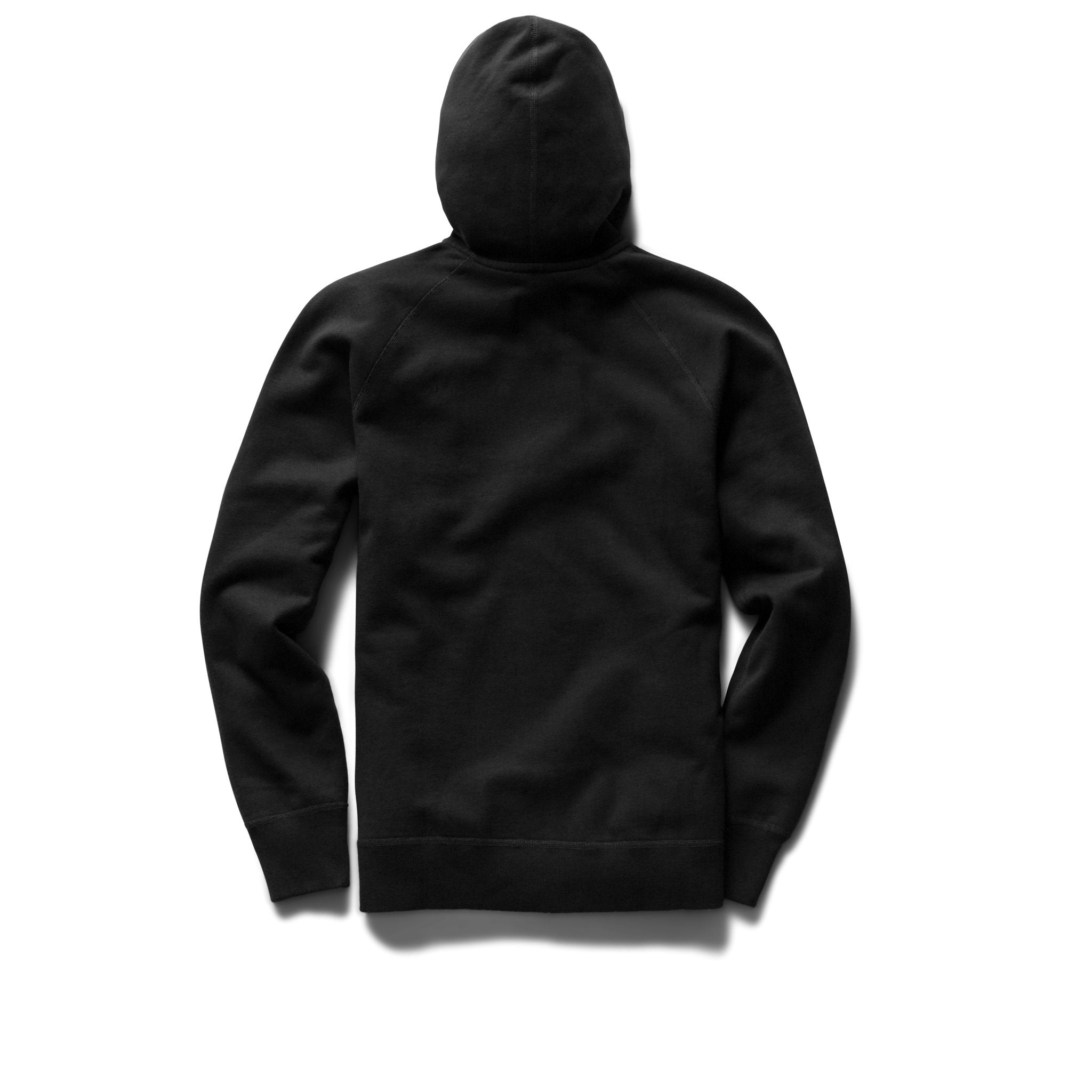 Midweight Terry Pullover Hoodie Black