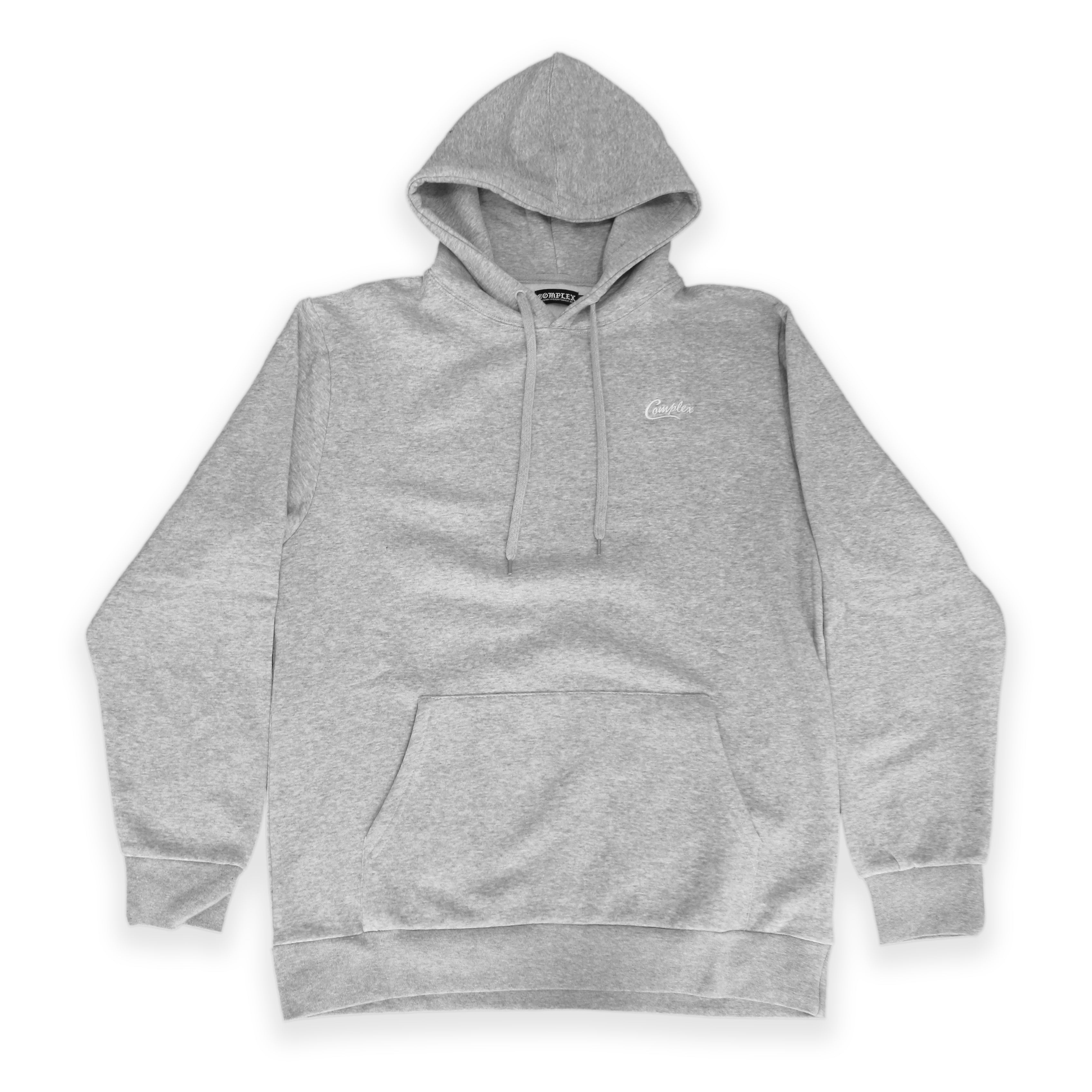 Premium Basic PO Hoodie Heather Grey