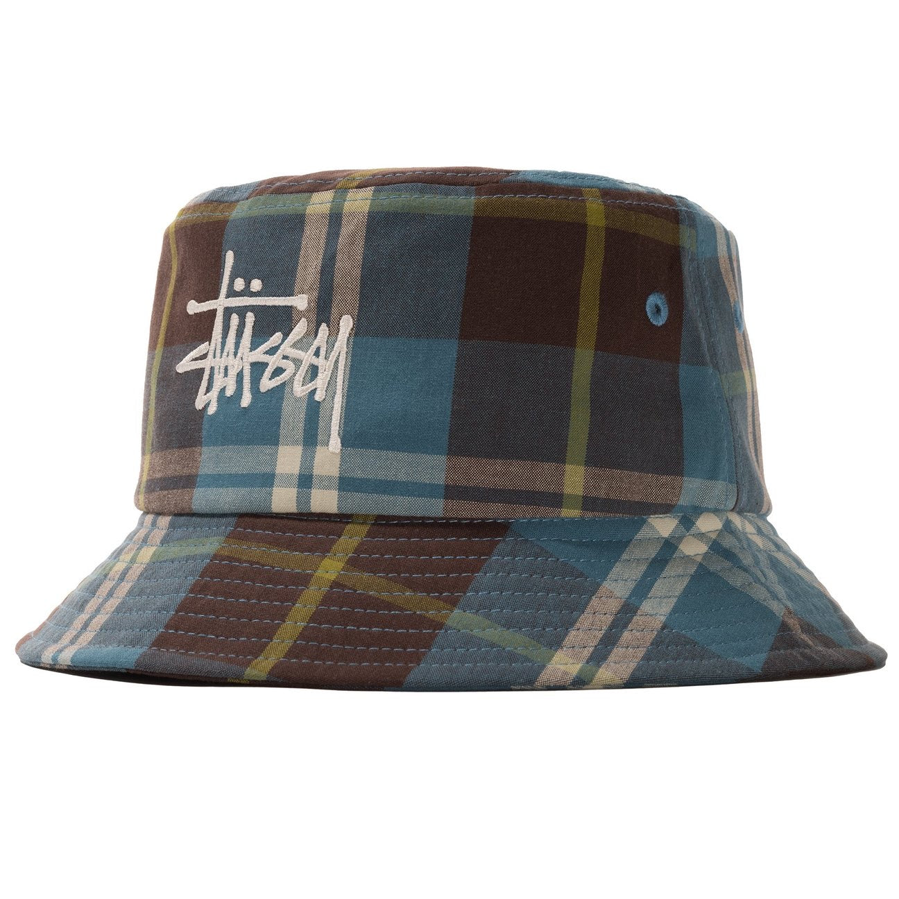 Big Logo Madra Bucket Hat Blue