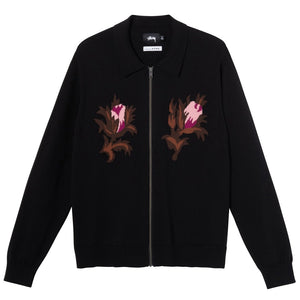 Rose Thorn LS Zip Sweater