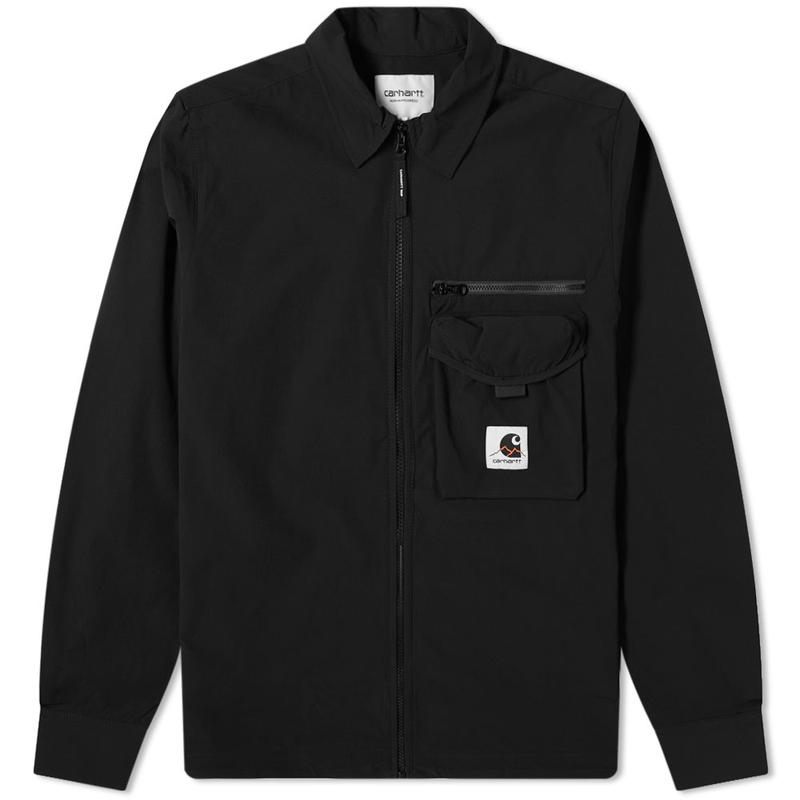 Hayes Shirt Jacket Black