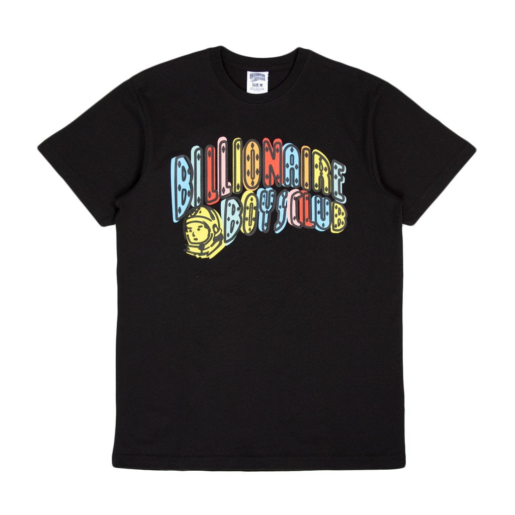 Water Colour SS Tee Black