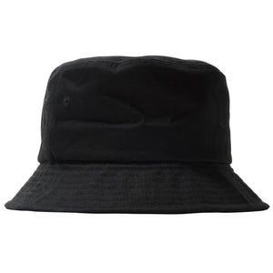 Stock Bucket Hat Black