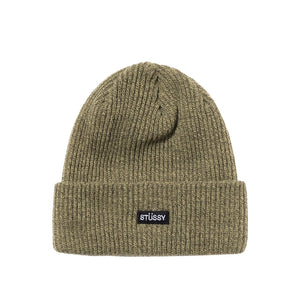 Small Patch Watchcap Beanie Olive