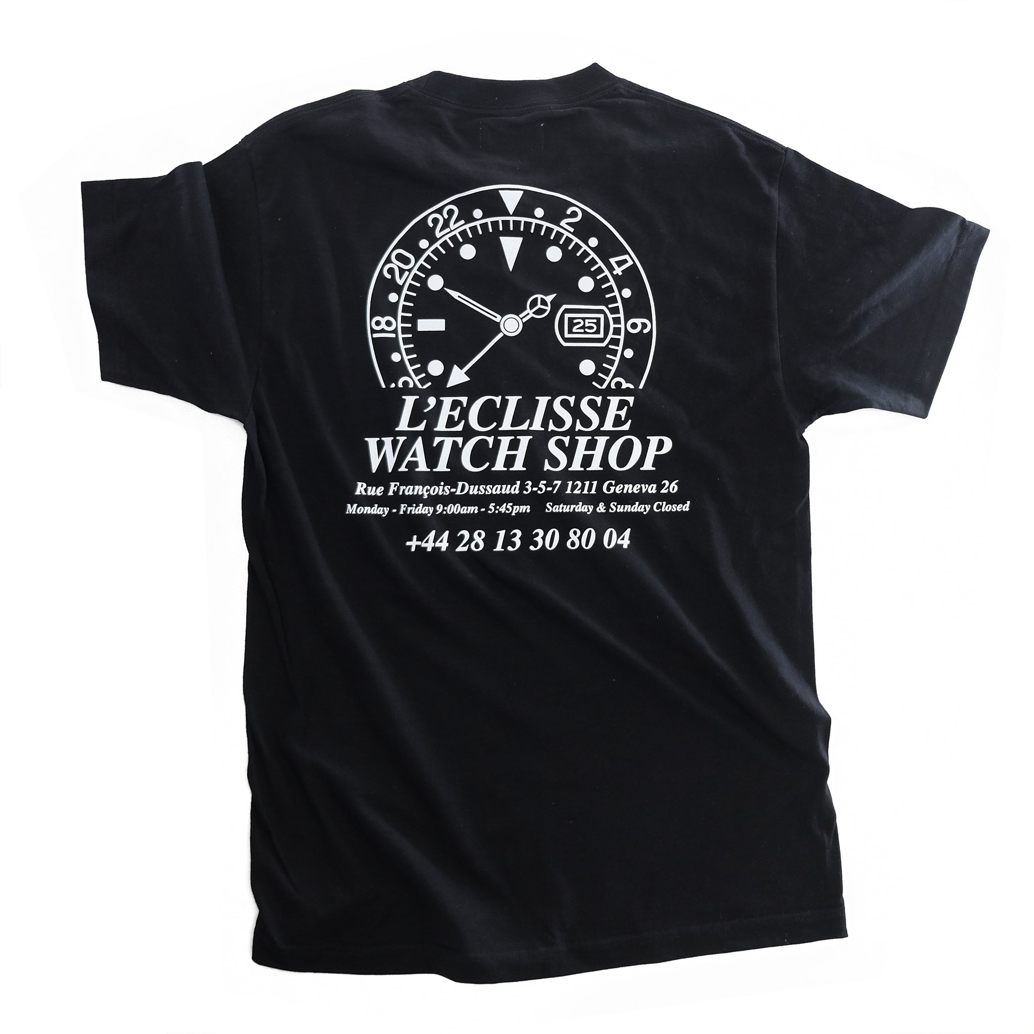 Watchshop Tee Black