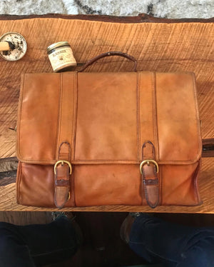 Estate Sale Finds - A $5 Tumi Messenger Bag Worth $300