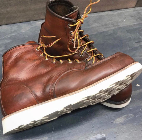 red wing boots resoled