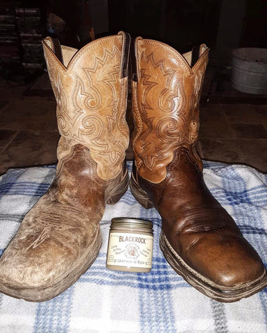 cowboy boot leather care