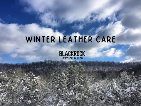 winter leather care