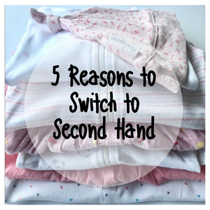 5 Reasons to switch to second hand clothes for your family