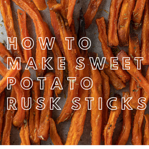 Sweet Potato Rusk Sticks