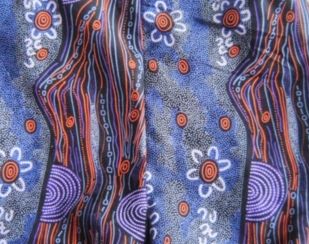 Prue's Pinny's Aboriginal Prints