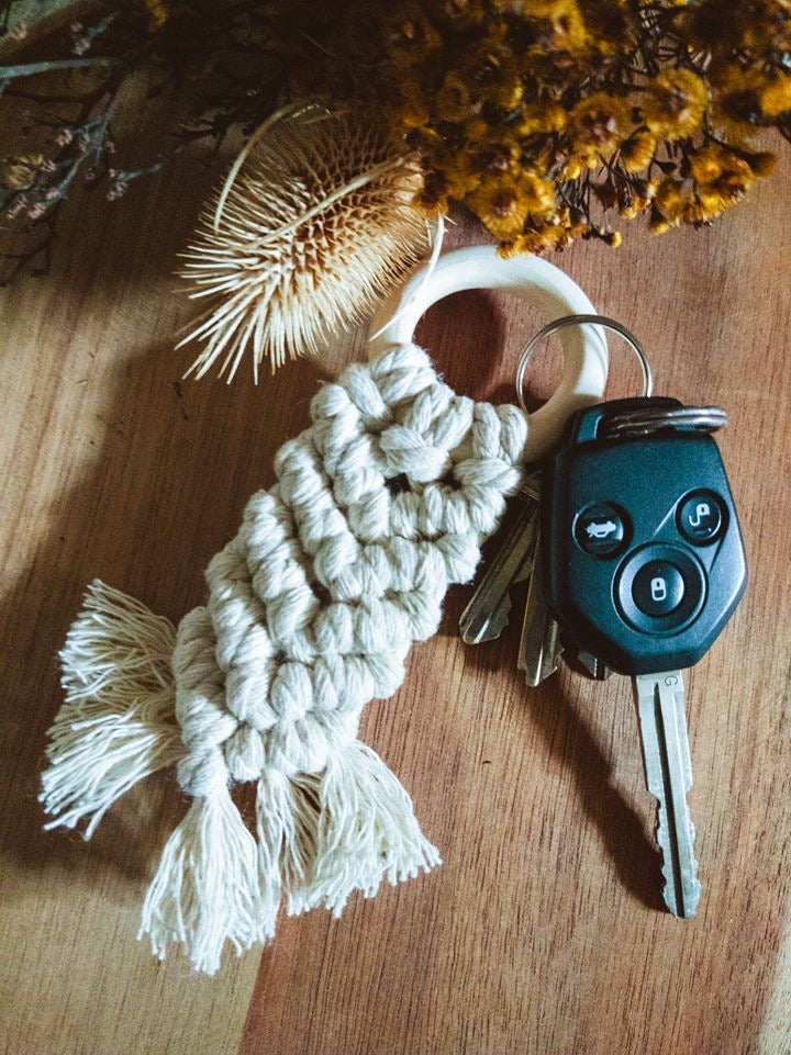 Macrame Key Chains