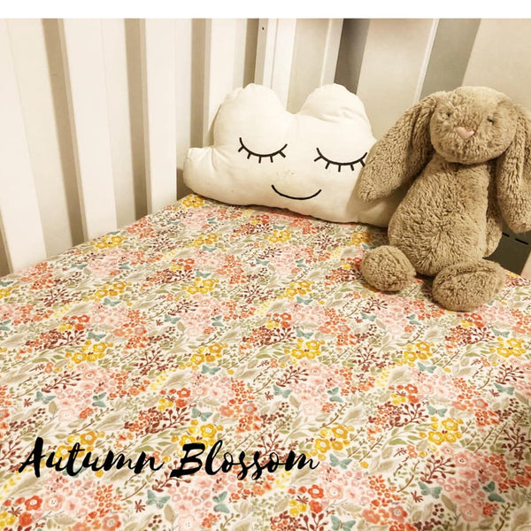 Flannelette Fitted Cot Sheet