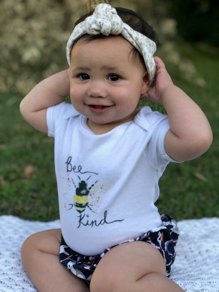 Bee Kind Organic Romper