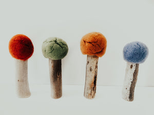 Wool Felt Top Trees