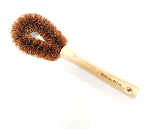 Coconut Fibre Pot Brush