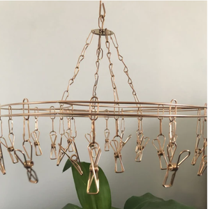 Rose Gold Octopus Hanger Stainless Steel