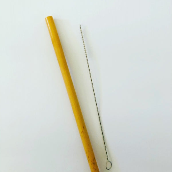 Organic Bamboo Straw (single)