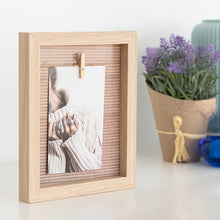 Load image into Gallery viewer, Wall photo frame Clothes Line (10 x 15 cm)
