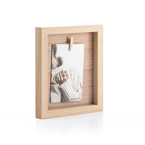 Wall photo frame Clothes Line (10 x 15 cm)